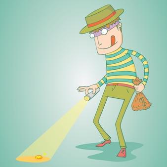 O ladrão ganancioso