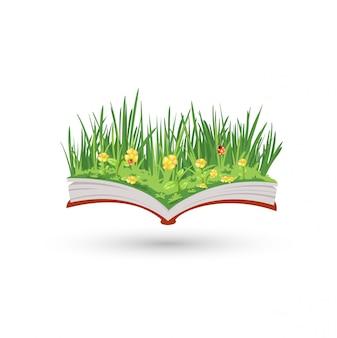 O livro de floração