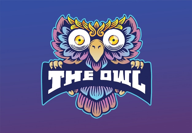 O logotipo da coruja