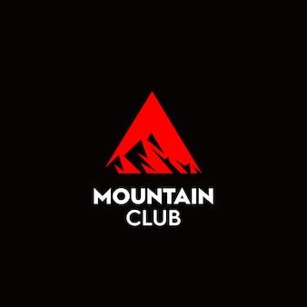 O logotipo do clube de alpinista