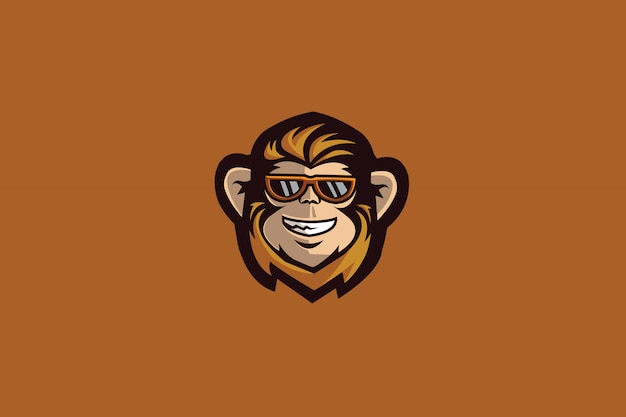 O logotipo do monkey e sports