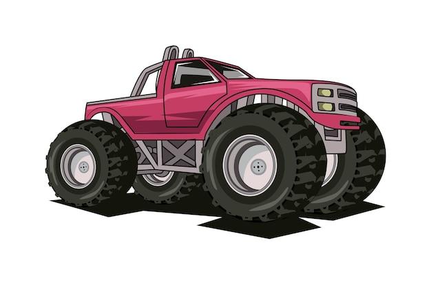 O maior caminhão monstro