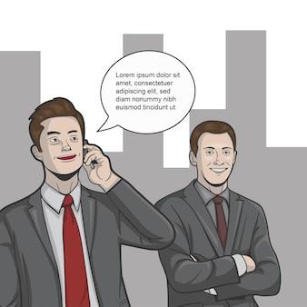 O marketing está fazendo lobby com os clientes pelo telefone