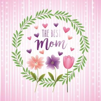 O melhor cartão da mãe