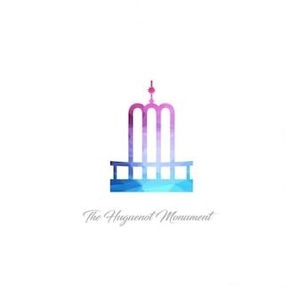 O monumento huguenote