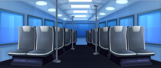 O ônibus dentro