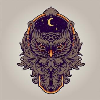 O ornamento predator da noite