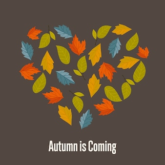 O outono está chegando
