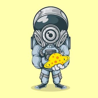 O poderoso astronauta