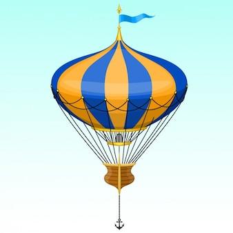 O projeto quente ballon do ar