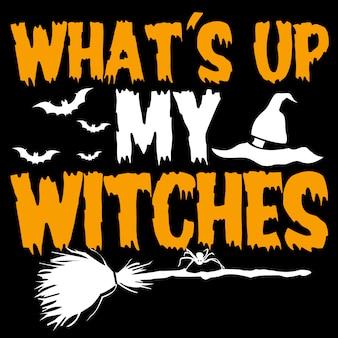 O que aconteceu as minhas bruxas