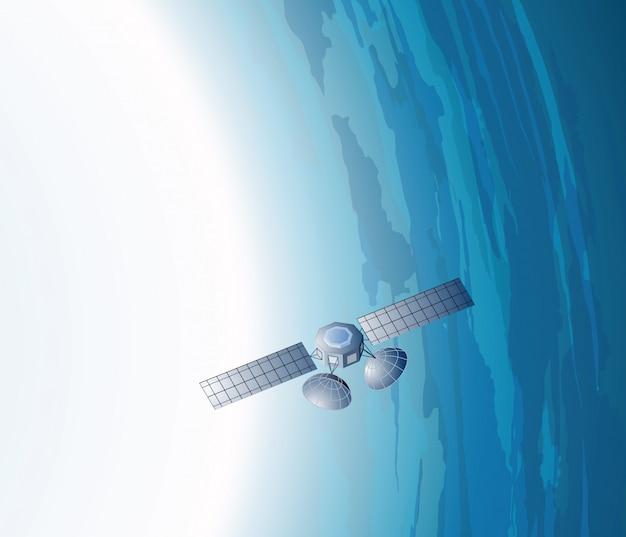 O satélite terrestre