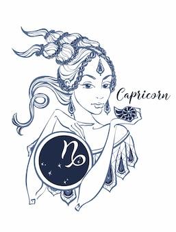 O signo astrológico de capricórnio