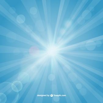 O sol brilhante fundo