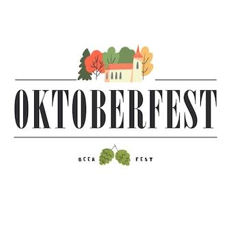 O tradicional festival da cerveja oktoberfest uma garota com um traje nacional bebe cerveja