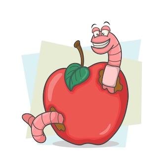O verme na maçã