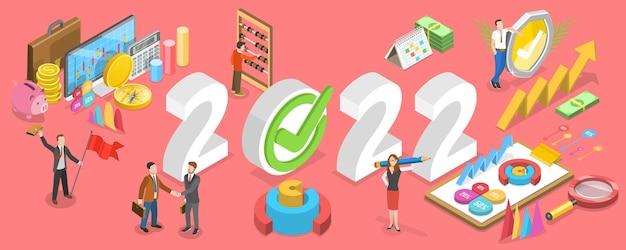 Objetivos e conquistas do ano financeiro de 2022