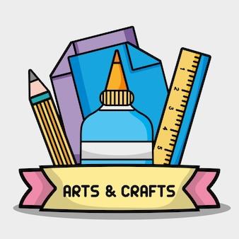 Objeto criativo para design de arte e artesanato