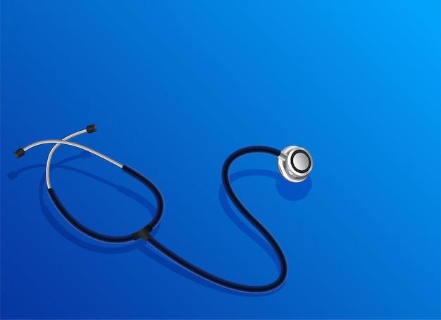 Objeto de estetoscópio médico