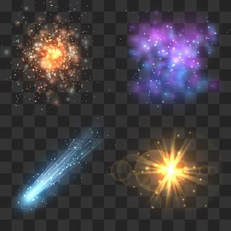 Objetos cosmos espaciais