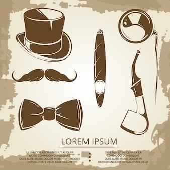 Objetos de estilo cavalheiros