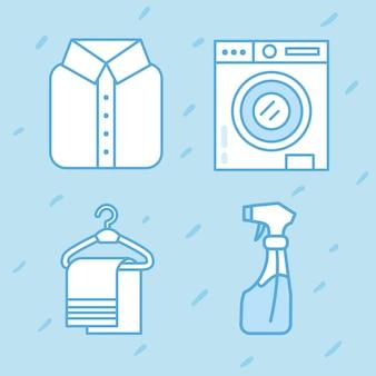Objetos de serviço de lavanderia