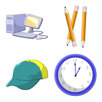 Objetos definir ilustração