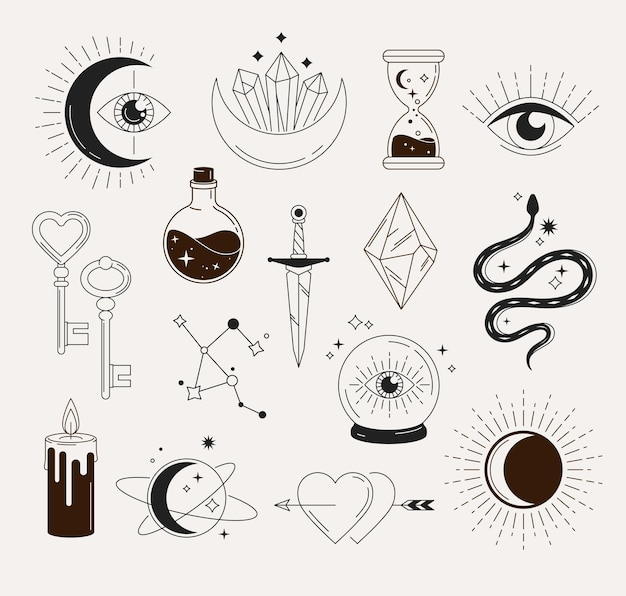 Objetos mágicos esotéricos