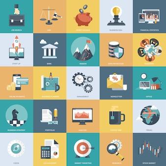 Objetos planos para sites e aplicativos móveis