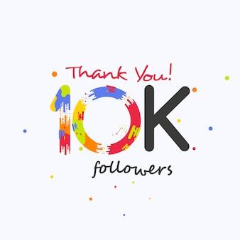 Obrigado 10k seguidores para as mídias sociais