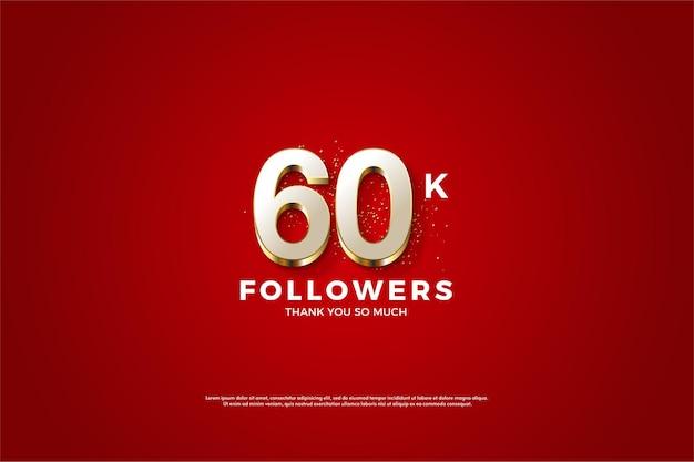 Obrigado pelos 60k seguidores com luxuosas e raras figuras folheadas a ouro.