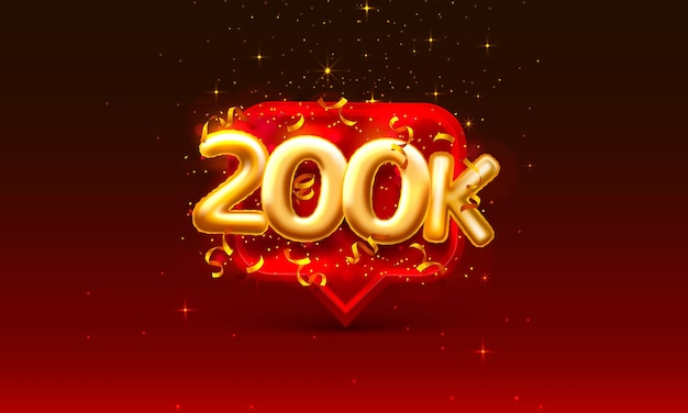 Obrigado povos seguidores, grupo social online de 200k, assinem