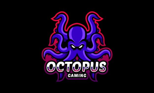 Octopus gaming esports logotipo