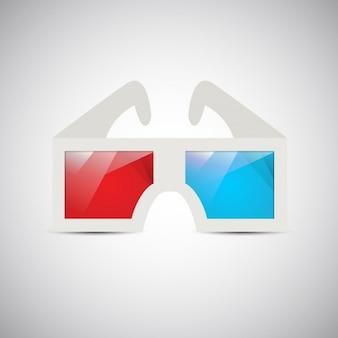 Óculos 3d vintage