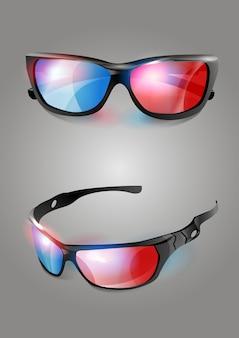 Óculos de cinema 3d