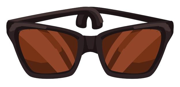 Óculos de sol de design unissex para homens e mulheres vetor
