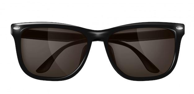 Óculos de sol realistas, óculos