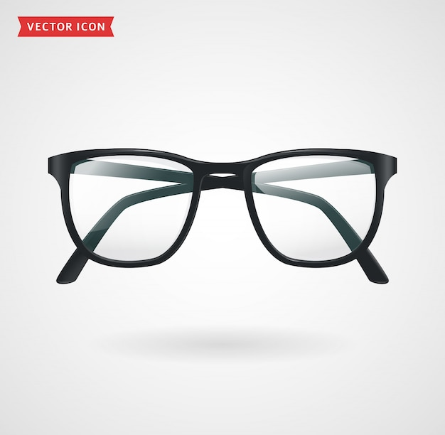 Óculos de vetor.