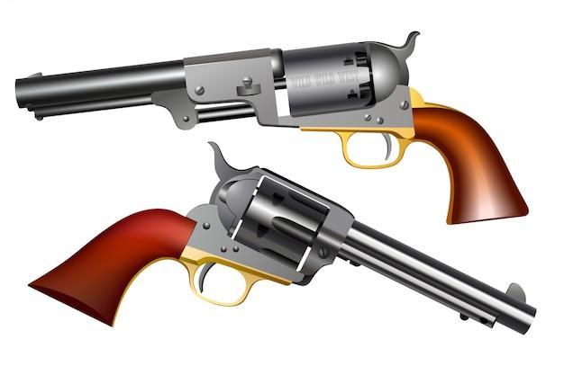 Oeste selvagem armas de mão
