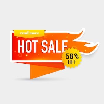 Oferta de preço de venda quente. coleção de selos / adesivos de venda quente e preço quente. ilustração.