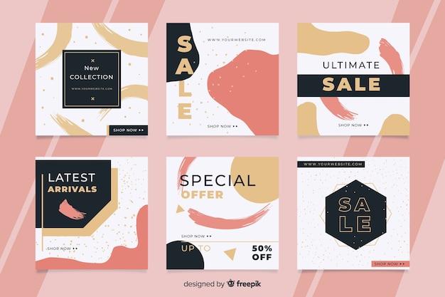 Oferta de venda de postagens on-line no instagram