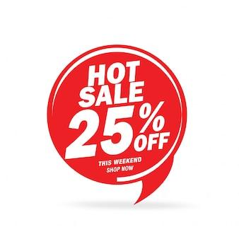 Oferta especial de venda e design de etiquetas de preço