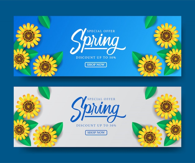 Oferta especial primavera oferta temporada