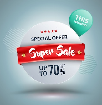 Oferta especial super sale