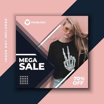 Oferta especial venda web banner