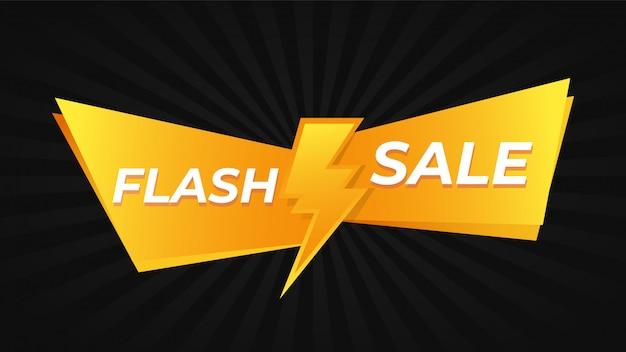 Oferta promo de venda em flash