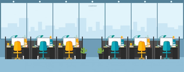 Office work in the company trabalhar usando desenho vetorial