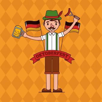 Oktoberfest alemanha celebração