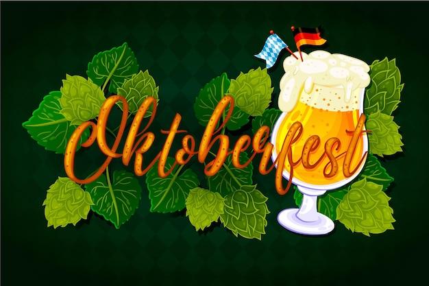 Oktoberfest - conceito de letras