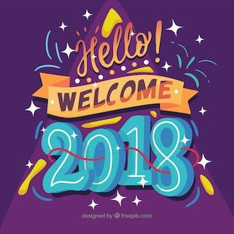 Olá bem-vindo 2018